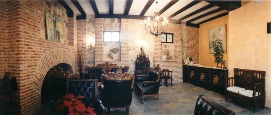 Hotel Posada de la Dehesa: Recepción