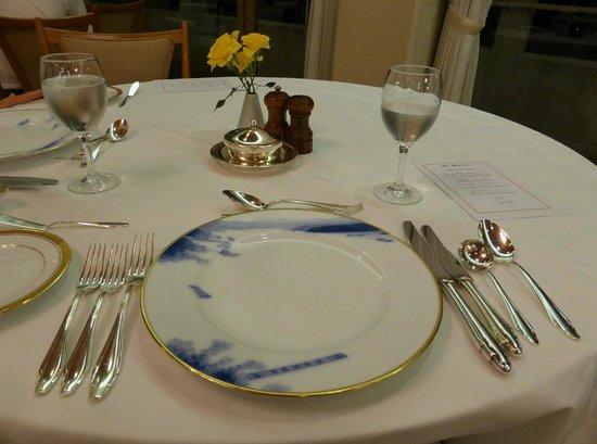 La Mer The Classic: 本日のディナーのメニューは、海と大地の恵み