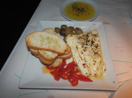 Romano's Macaroni Grill: Bruschetta Crostini