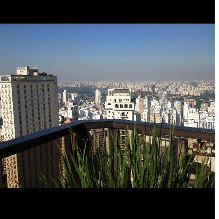 Central Park Flat Jardins: Vista Apartamento 21 andar