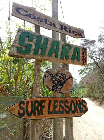 Shaka Beach Retreat: Sign