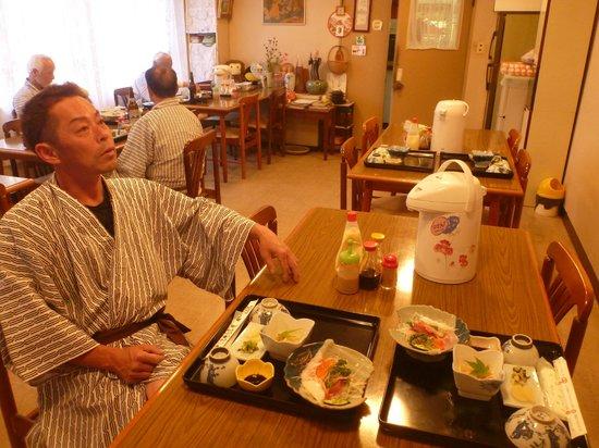 Yoneya Inn: 食堂