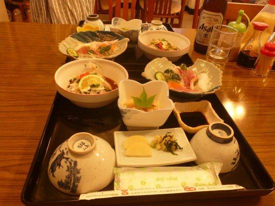 Yoneya Inn: 夕食