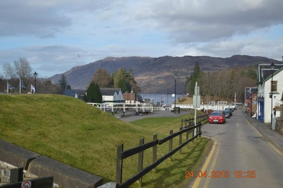 Caledonian House: View of Loch Ness