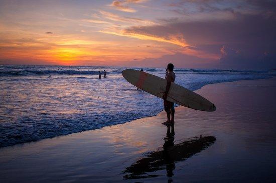 Berawa Beach : Berawa sunsets