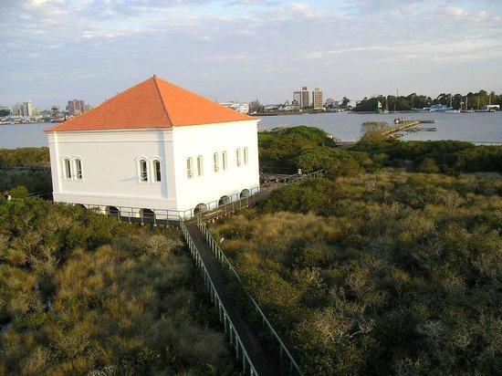 Rio Grande: ilha da pólvora