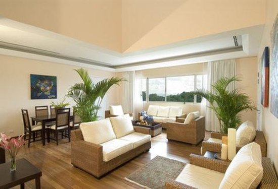 Gaia Hotel & Reserve: Villa Living Area