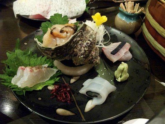 Oishiya: 夕食の刺身
