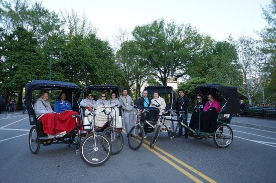 Central Park Pedicab Tours : Our Crew!
