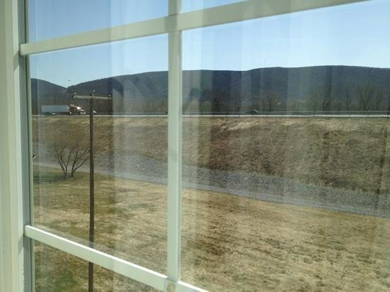 Candlewood Suites Williamsport: view out my window