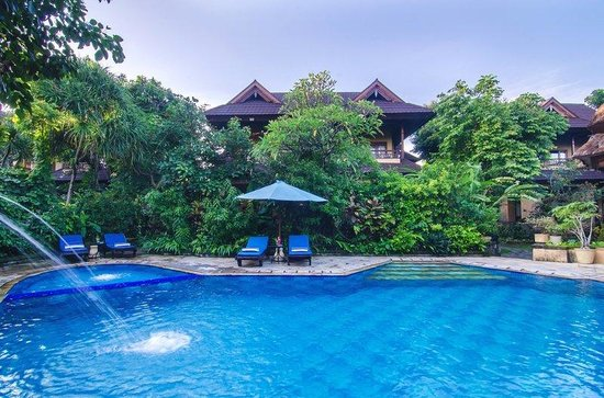 Sri Phala Resort & Villa: Pool View