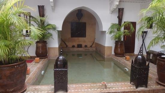 Riad Les Nuits de Marrakech: the refreshing pool
