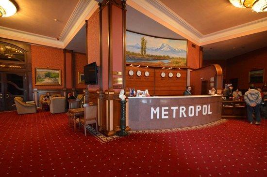 Best Eastern Hotel Metropol: ロビー