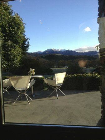 Waiorau Homestead: Breakfast view