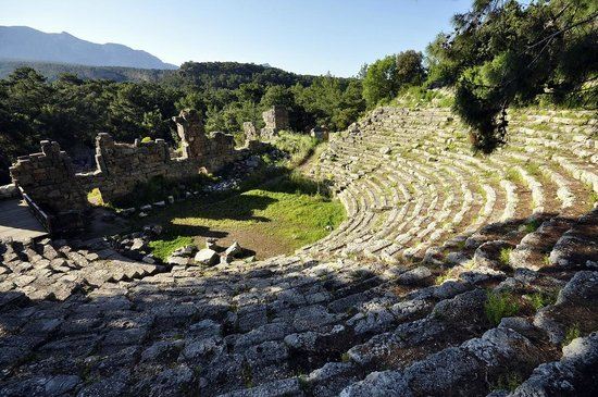 Tekirova, Turkey: The theatre