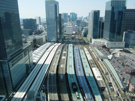 Hotel Metropolitan Tokyo Marunouchi: 部屋から東京駅を