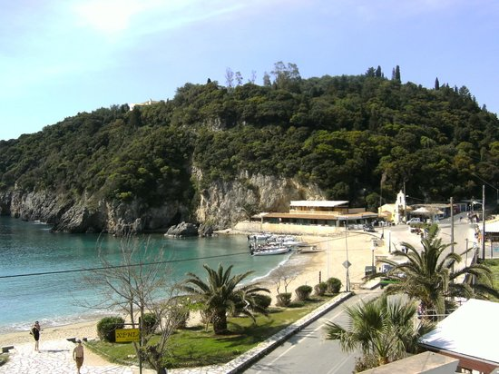 Apollon Hotel: view from room