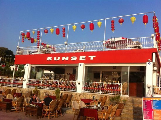 Sunset Restaurant: Sunset