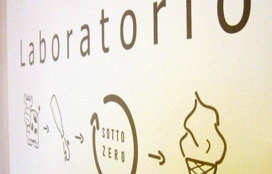 Gelateria Ribera: Laboratorio annesso alla vendita