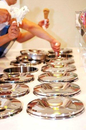 Gelateria Ribera: Pozzetti, il massimo per l'igiene del gelato