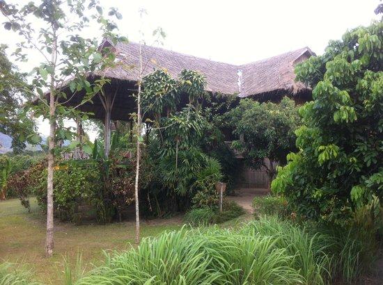 Lisu Lodge: Eines der Holz- und Bambushäuser