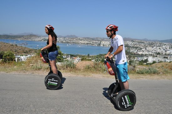 Aegean Gingers Segway Tours: Rolling up to the Windmills