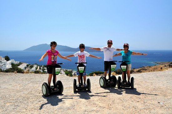 Aegean Gingers Segway Tours: By the Windmills