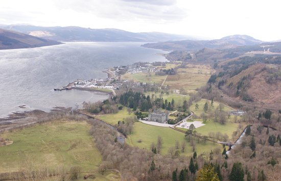 The Inveraray Inn: View from Dun-Na-Quaich