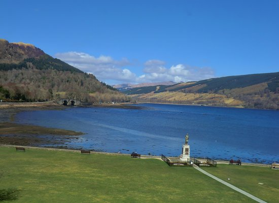 The Inveraray Inn: View from room 210