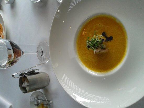 Bergs: тыквенный суп