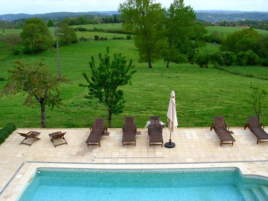 Ferme de Lagrave : View from the bedroom