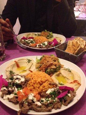Au coeur du Liban: assiette découverte