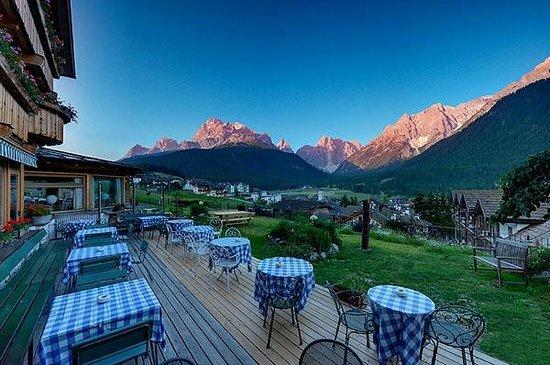 Berghotel: Terrasse