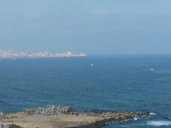 El Haram Hotel: Room sea view