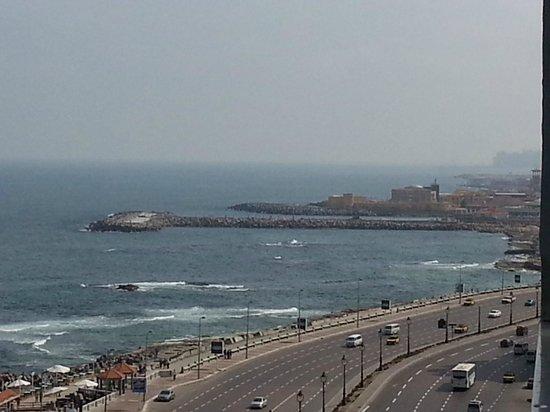 El Haram Hotel : Room sea view