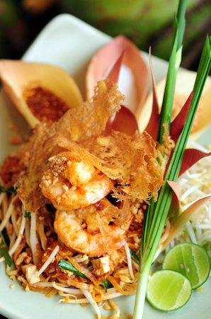 Dining on the hill: Phad Thai