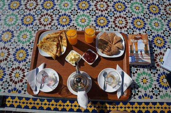Riad Lakhdar: la colazione