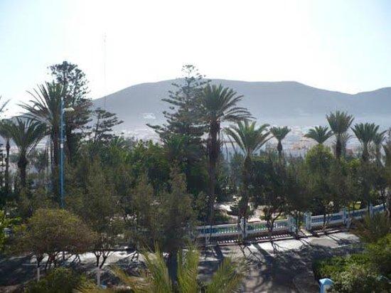Hotel Bellevue: View from Front Terrace of Belle Vue