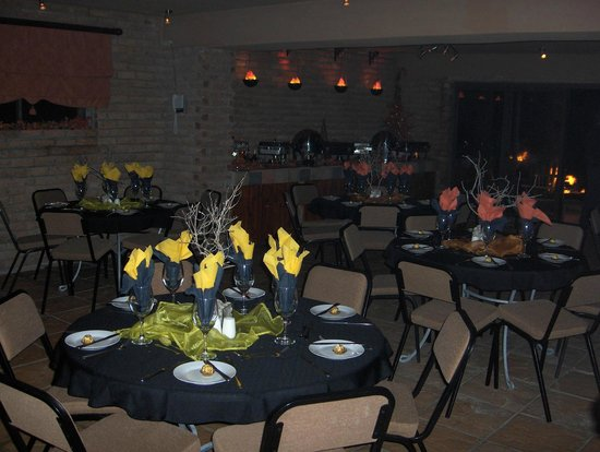 Sea Otters Lodge: We cater for Functions