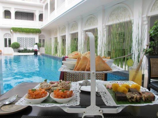 Ping Nakara Boutique Hotel & Spa : Afternoon Tea-set