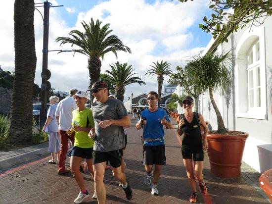 Run Cape Town: Running thro the V&A waterfront