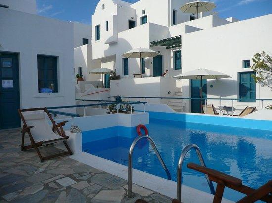 Oia's Sunset Apartments: vista