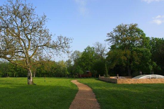 La Jasoupe : Le jardin