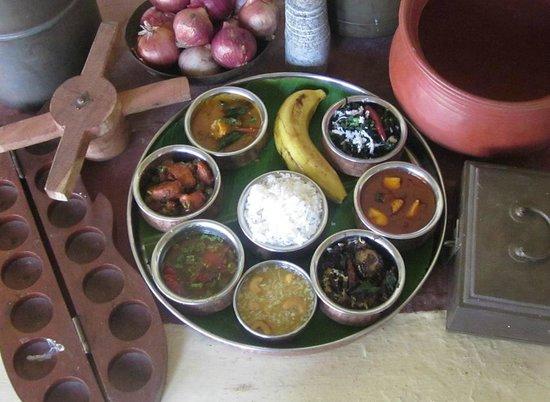 Taj Garden Retreat: Madurai Rural Cuisine by a lady homemaker. A Gateway Initiative.