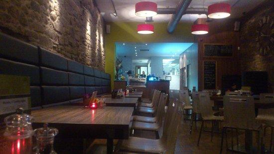 Porto & Fi on The Mound: the restaurant