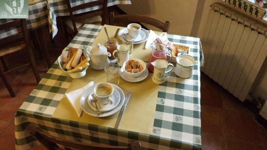Il Sambuco: breakfast