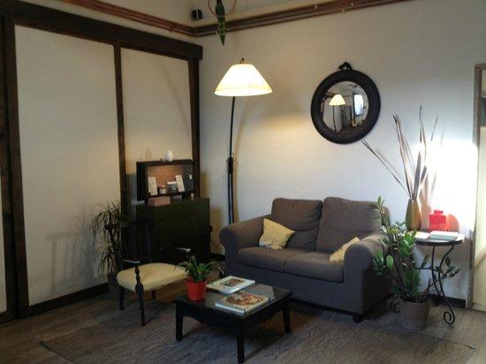 B&B Il Cielo: Living/ dining area