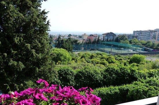 B&B Aloisio: Fensterblick auf Catania
