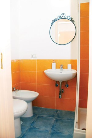 Sichelgaita Bed and Breakfast: Bagno in camera /Ensuite bathroom