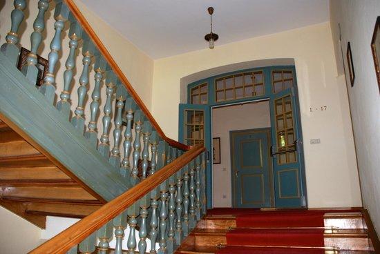 Parkhotel Holzner: Treppenhaus